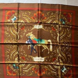 Hermès - Hermes Scarf rare 'Cheval Turc ' perfetto stato !Schal