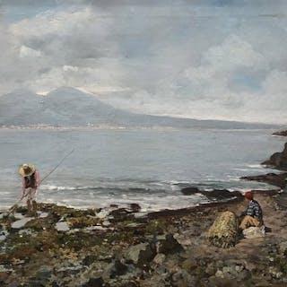 Laezza Giuseppe (1835-1905) - Marina di Napoli