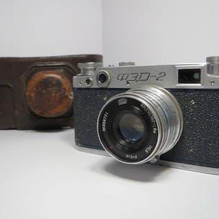 """FEDRare """"FED-2"""" - (B) Blue body /PE0410/ (1956)"""