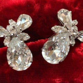 Christian Dior - Exklusive Ohrclips - Vintage-Objekte der...