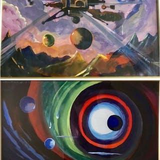 William Nuzzo- Senza titolo - n 2 opere