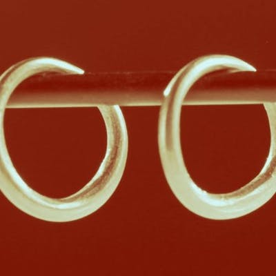 Ancient Roman Gold earings - (2)
