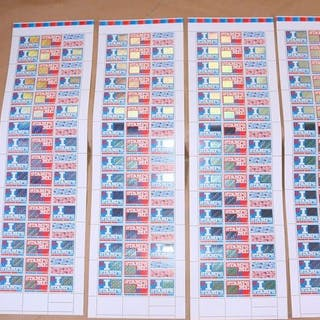 Niederlande 1999 - Surprise stamps in four complete sheets - NVPH 1824/1825