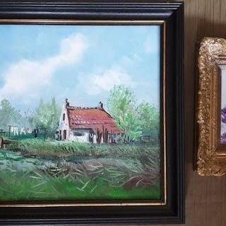 Henk Poeder (1964- ) - Little bird is waiting for his...