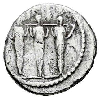 Repubblica romana - Denarius - P