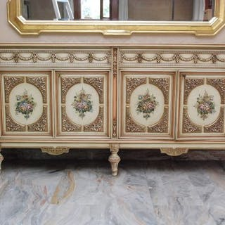 Hand decorated furniture - Louis XVI Style