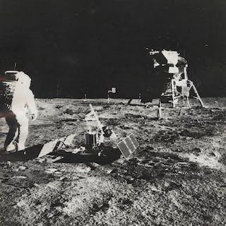 NASA/AGIP - Buzz Aldrin on the Moon, Apollo 11 Mission, 1969
