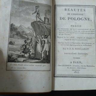 Nougaret - Beautés de l'histoire de Pologne - 1817