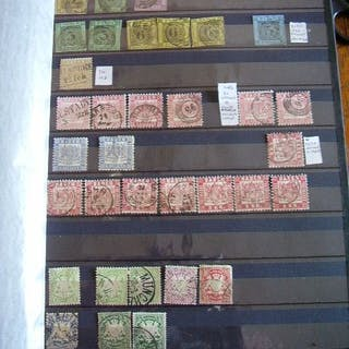 Deutsches Reich - Empire and German area in general. Wide collection