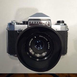 Praktica Super TL+ Domiplan 50mm + 35-70mm + Diaduplicaor + acc.