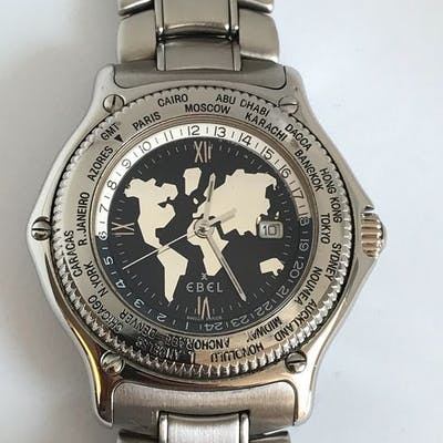 """Ebel - Voyager Discovery World Time - """"NO RESERVE PRICE""""..."""
