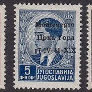 Montenegro 1941 - Italian occupation of Montenegro