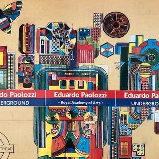 Eduardo Paolozzi - Lot with 4 catalogues - 1967/1986
