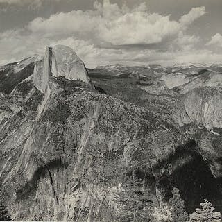 Ansel Adams (1902-1984) - Half Dome, Yosemite National Park, c.1930s