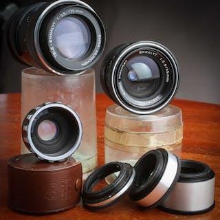 Enna M42 Objectif 135 mm f 3,5+ 35 mm f 3,5+ 3 Bagues...