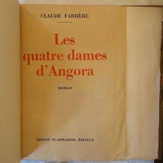 Claude Farrere - Les Quatre Dames d'Angora - 1933