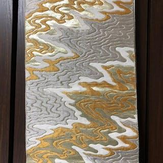 Obi - Seide - KIMONO Golden cloud pattern - Japan - Mitte des 20. Jahrhunderts