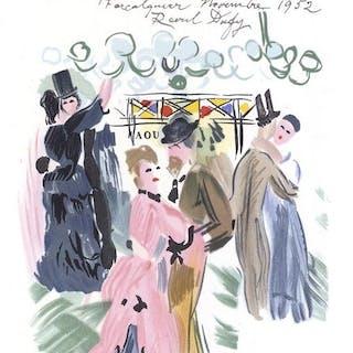 Raoul Dufy - Au bal, hommage à Jean Renoir