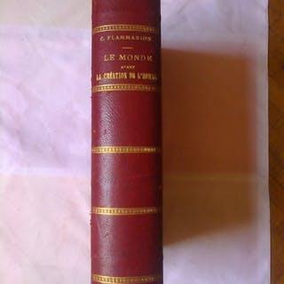 C. Flammarion - Le monde avant la création de l'homme - 1886