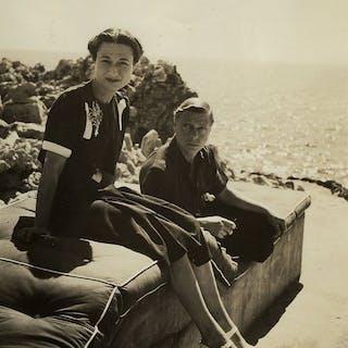 Roger Schall (1904-1995)/Conde Nast - Duke and Duchess of Windsor, 1938