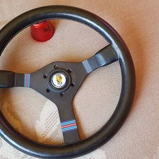 Parts - Porsche Momo Martini Racing steering wheel- 1990