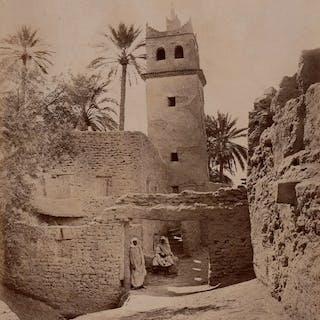 Non identifié (XIX) - La grande mosquée du vieux Biskra
