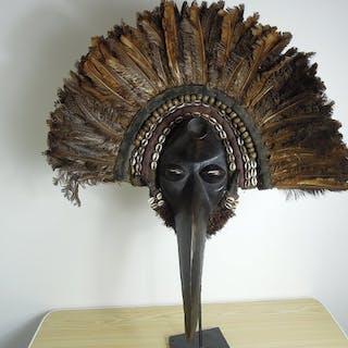 Masque - Bois - Mahou - Dan - Côte d'Ivoire