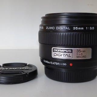 Olympus 3,5 35mm AF MACRO prime objectief origineel Digitaal