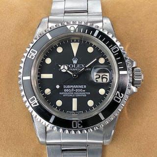 Rolex - Submariner Date Maxi Dial - 1680 - Unisex - 1970-1979