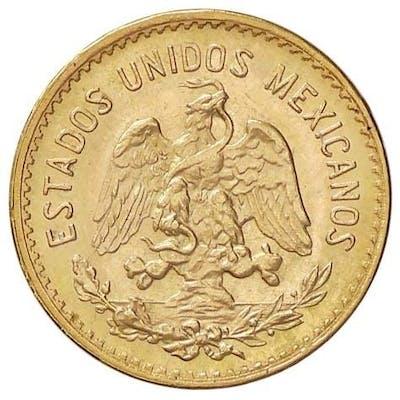Messico - 5  Peso 1955 - Oro