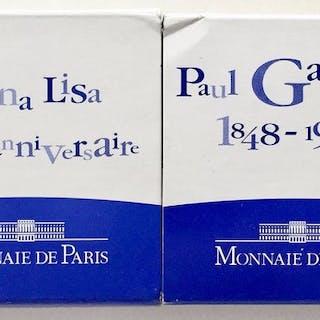 Frankreich - 1 1/2 Euro 2003 Mona Lisa en Paul Gaugain - Silber