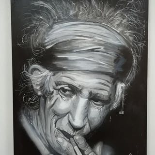 Keith Richards - By Vincent Mink - Artwork / painting