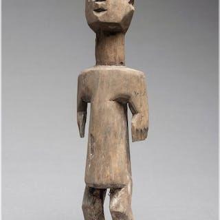 Importante feticcio Aklama - Legno - Ada - Ghana