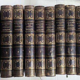 Adolphe Thiers  -  Histoire de la Révolution Française  - 1847
