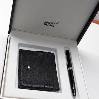 Montblanc - pen + wallet / card holder