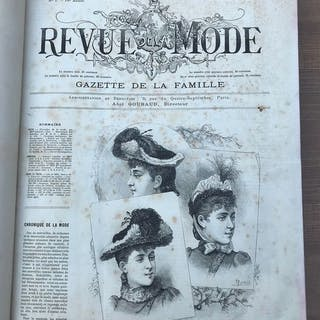 Abel Goubaud - Revue de la mode. Gazette de la famille - 1890