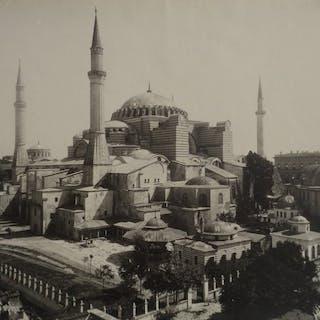 Sebah et Joaillier (actifs 1865/1905) - Mosquée sainte Sophie, Constantinople