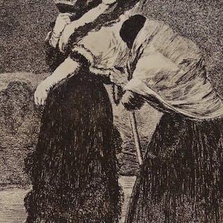 Francisco de Goya (1746 - 1828) - Dios la perdone y era su madre