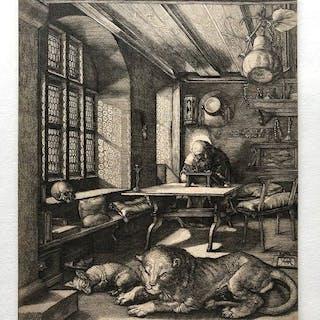 Albrecht Dürer - Saint Jérôme dans sa cellule
