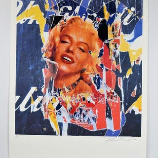 Mimmo Rotella -Omaggio a Marilyn (A Tribute to Marilyn)