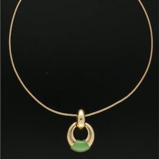 Grosse - 14 kt. Gold - Necklace Jade