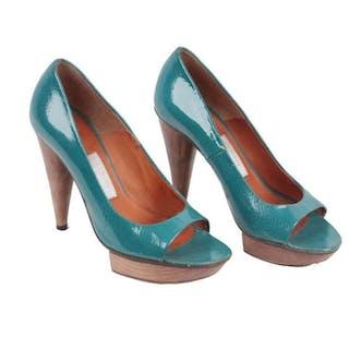 Lanvin - NO RESERVE - Open Toe Heels Scarpe col tacco - Taglia: IT 36