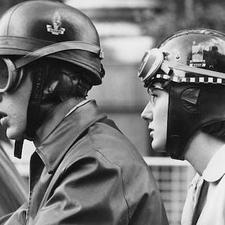 Kees Scherer (1920-1993) - Motorcyclists - London 1959