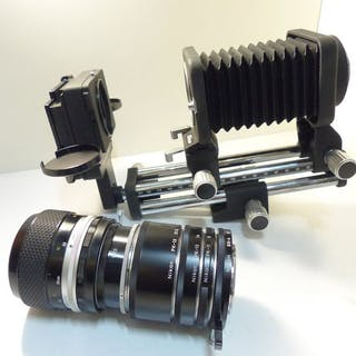 Nikon PB 4 et PS 4 + Micro Nikkor 55mm f/3.5