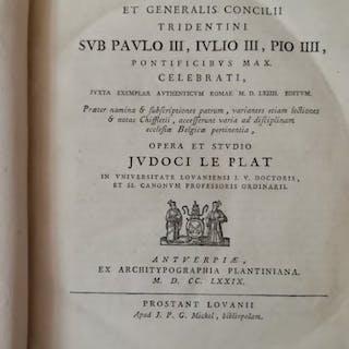 Judocus Le Plat - Canones
