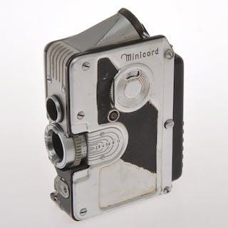 C.P. GorzMinicord nice Austrian 16mm TLR subminiature camera, c.1951, exc++