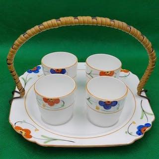 Clarice Cliff Style - Heathcote China - Art Deco...