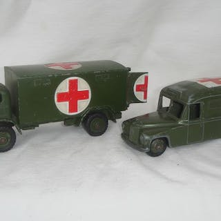 "Dinky Toys - 1:48 - First Issue ""Daimler Army Ambulance""..."