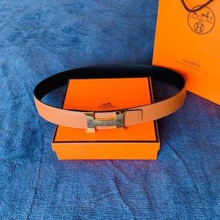 Hermès - Ceinture Boucle Hermes et cuir de ceinture...