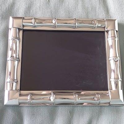 Gucci  - Cornice per foto in argento sterling di bambù